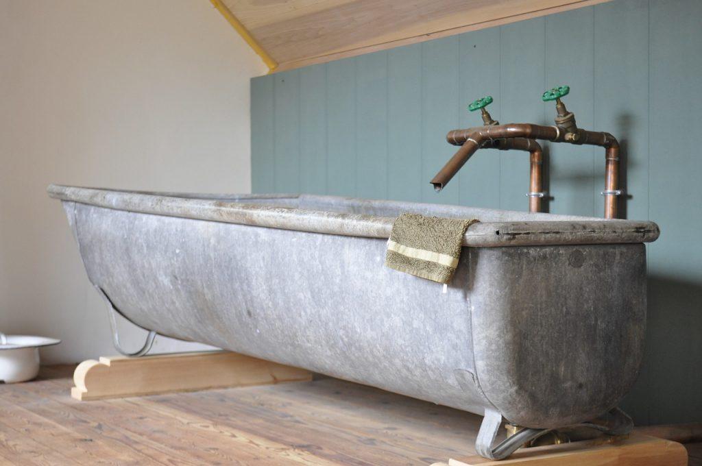 snoezelen in een oud bad
